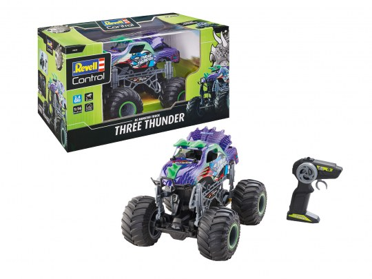 "RC Dino Monster Truck ""Three Thunder"""