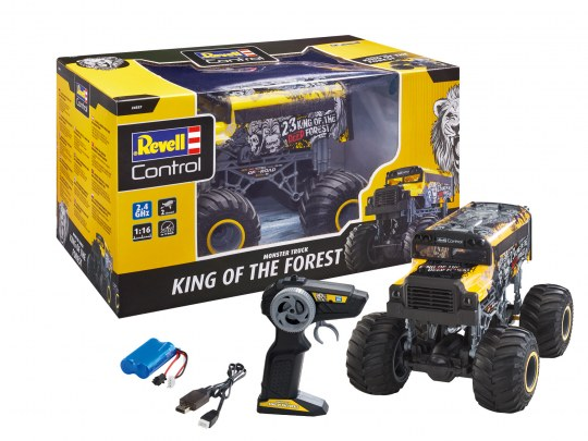"Monster Truck ""KING OF THE FOREST"""