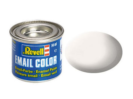 Email Color Blanc mat, 14ml, RAL 9001