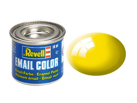 Email Color, Yellow, Gloss, 14ml, RAL 1018