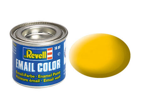 Email Color Gelb, matt, 14ml, RAL 1017