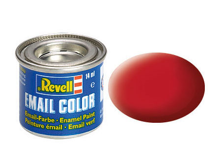 Email Color Rouge carmin mat, 14ml, RAL 3002