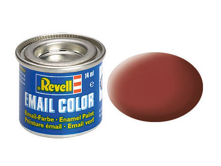 Email Color, Reddish Brown, Matt, 14ml, RAL 3009