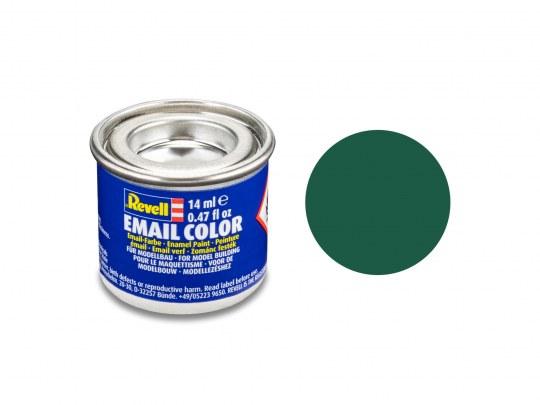 Email Color Dunkelgrün, matt, 14ml