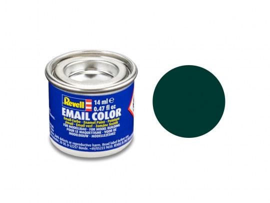 Email Color, Black Green, Matt, 14ml