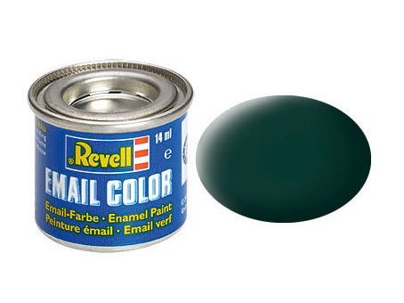 Email Color, Black Green, Matt, 14ml