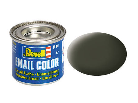 Email Color Jaune olive mat, 14ml
