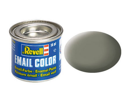 Email Color Vert olive mat, 14ml, RAL 7003