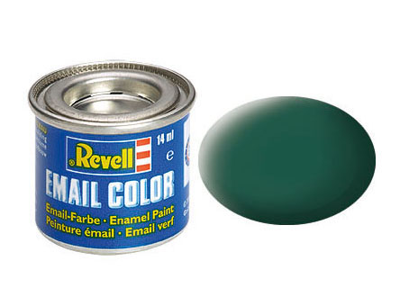 Email Color Seegrün, matt, 14ml, RAL 6028