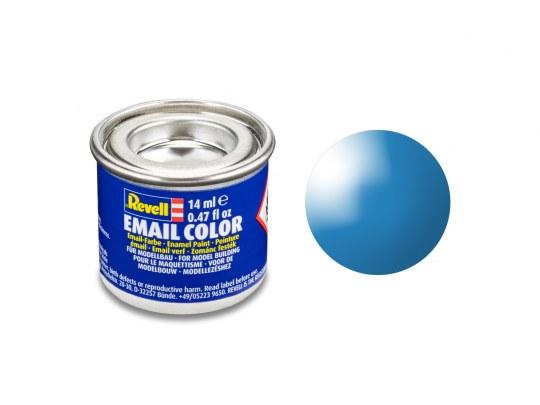 Email Color Lichtblau, glänzend, 14ml, RAL 5012