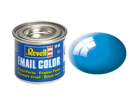 Email Color Bleu ciel brillant, 14ml, RAL 5012