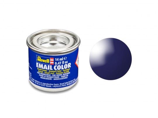 Email Color Nachtblau, glänzend, 14ml, RAL 5022
