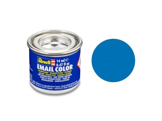 Email Color Bleu mat, 14ml, RAL 5000