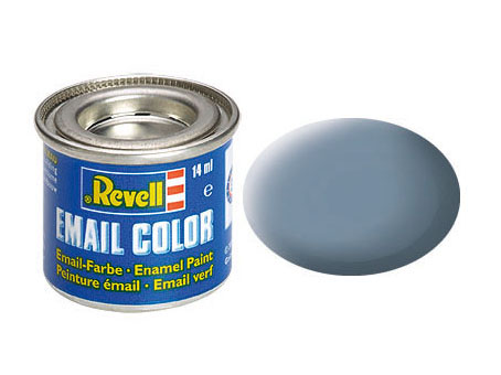 Email Color Gris mat, 14ml, RAL 7000