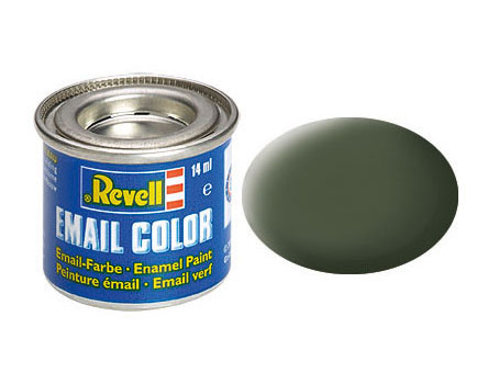 Email Color Bronze mat, 14ml, RAL 6031