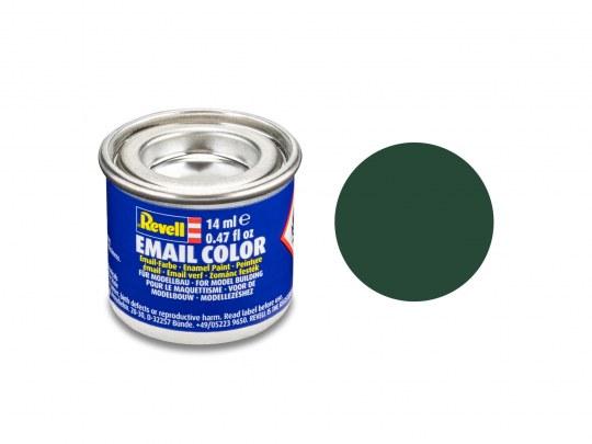 Email Color Vert foncé (RAF) mat, 14ml