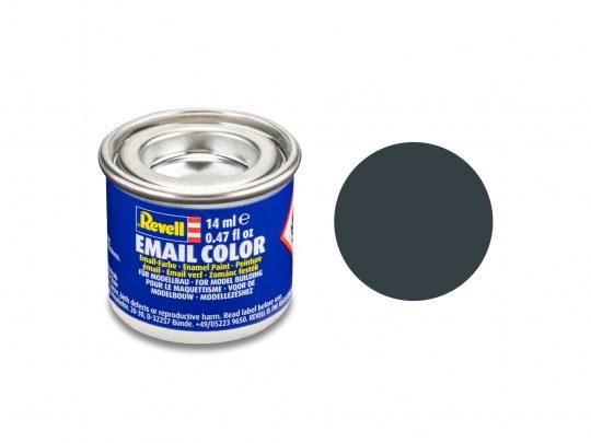 Email Color Gris granite mat, 14ml, RAL 7026