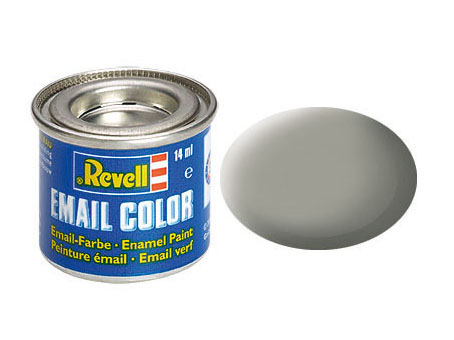 Email Color Steingrau, matt, 14ml, RAL 7030