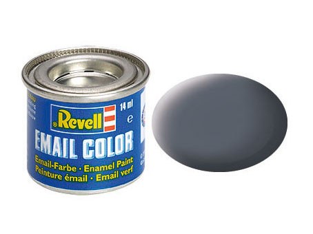 Email Color Staubgrau, matt, 14ml, RAL 7012