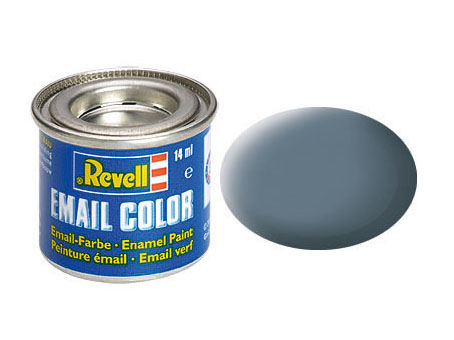 Email Color Blaugrau, matt, 14ml, RAL 7031