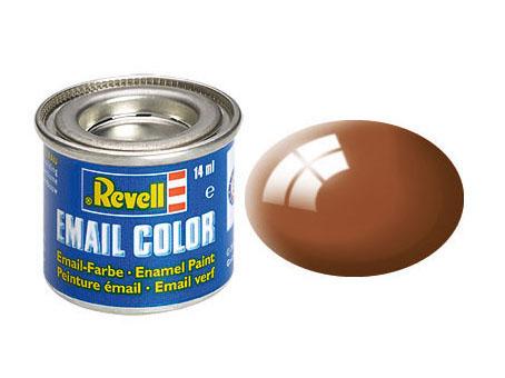 Email Color Brun brillant, 14ml, RAL 8003