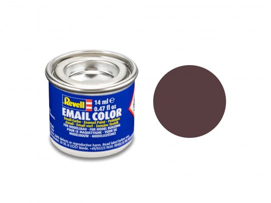 Email Color Marron mat, 14ml, RAL 8027