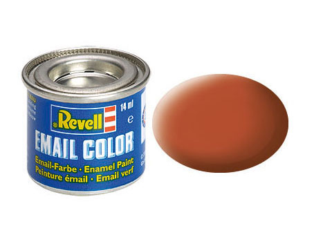 Email Color Braun, matt, 14ml, RAL 8023