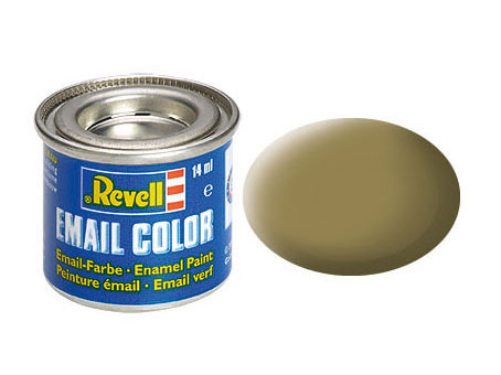 Email Color Khakibraun, matt, 14ml, RAL 7008