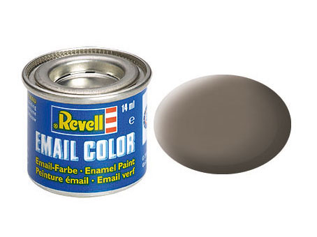 Email Color Terre mat, 14ml, RAL 7006