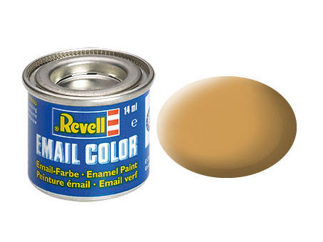 Email Color Ocker, matt, 14ml, RAL 1011