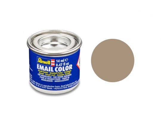 Email Color Beige mat, 14ml, RAL 1019