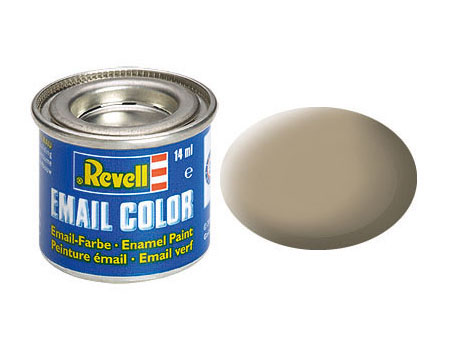 Email Color Beige, matt, 14ml, RAL 1019