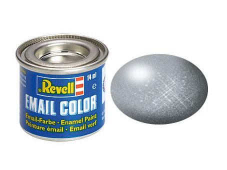 Email Color Gris acier metal, 14ml