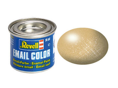 Email Color, Gold, Metallic, 14ml