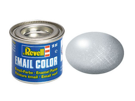 Email Color Aluminium, metallic, 14ml