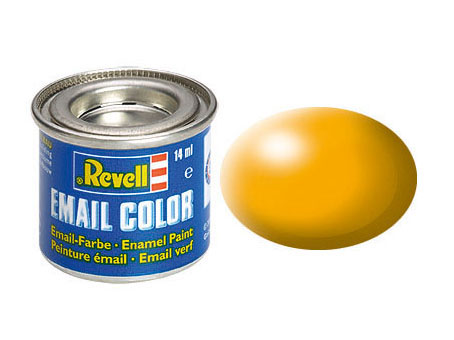 Email Color Jaune satiné, 14ml, RAL 1028