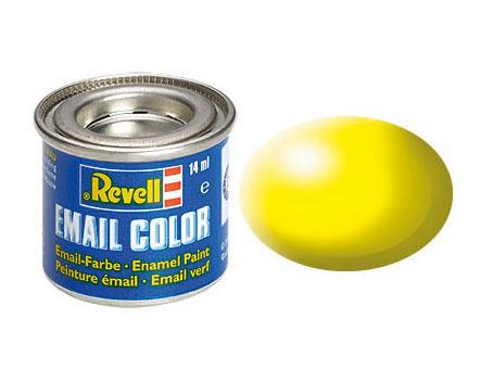 Email Color Leuchtgelb, seidenmatt, 14ml, RAL 1026