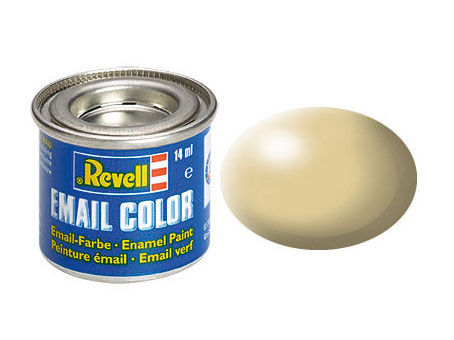 Email Color Beige satiné, 14ml, RAL 1001