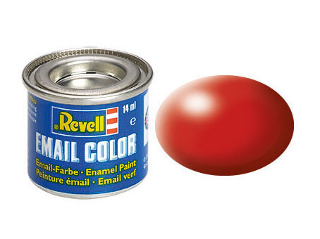 Email Color, Fiery Red, Silk, 14ml, RAL 3000