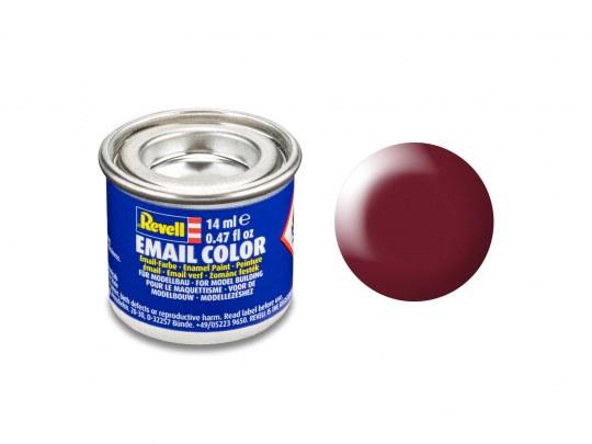 Email Color Rouge Bordeaux satiné, 14ml, RAL 3004