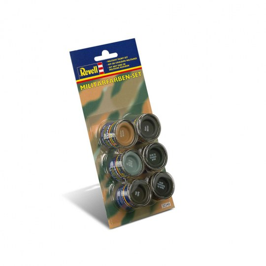 Email Color Set couleurs militaires, 14ml