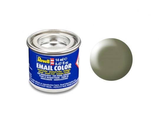 Email Color Schilfgrün, seidenmatt, 14ml, RAL 6013