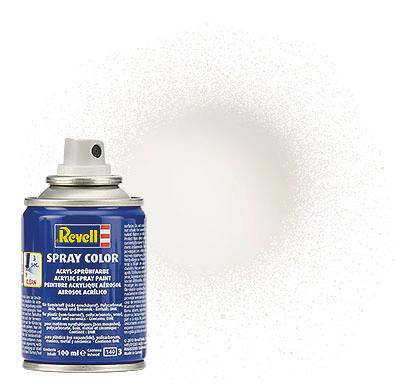 Spray Color Blanc Brillant, Bombe, 100ml