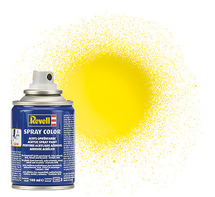 Spray Color, Yellow, Gloss, 100ml
