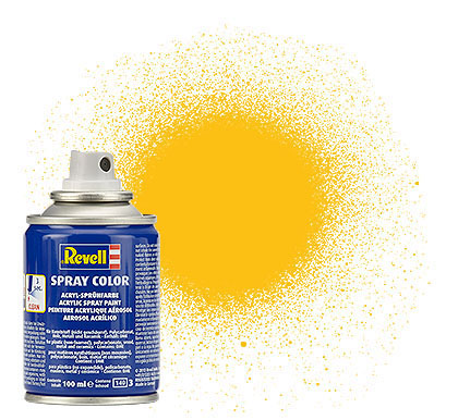 Spray Color Gelb, matt, 100ml