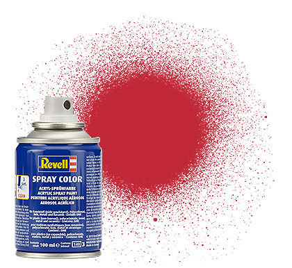 Spray Color, Carmine Red, Matt, 100ml