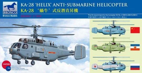 Bronco Models - Kamov KA-28 HELIX Anti-Submarine Helicop