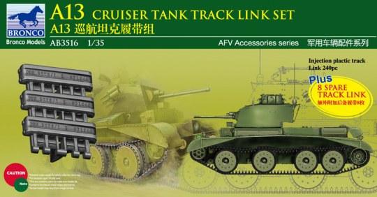 Bronco Models - A13 Cruiser Tank MK.III Track Link Set