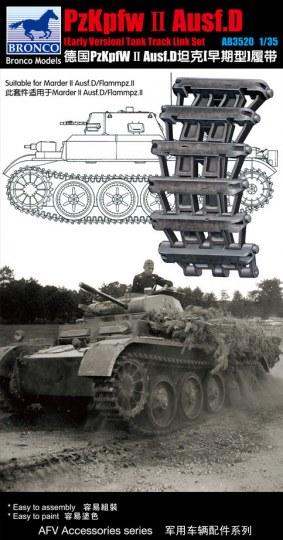 Bronco Models - Pzkpfw.II Ausf.D (Early Version) Track Link Set