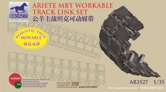 Bronco Models - Italian C-1 Ariete MBT Workable Track Link Set